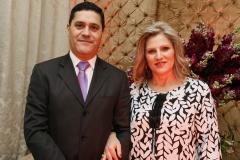 Vice-presidente da OAB de Arapongas Fernando Borges e esposa Rosangela Mara Sartori. (Cópia)