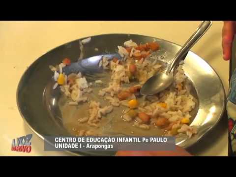 Entrevista Nutricionista Elen sobre merenda