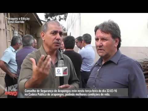 Entrevista com Engenheiro sobre Delegacia de Arapongas