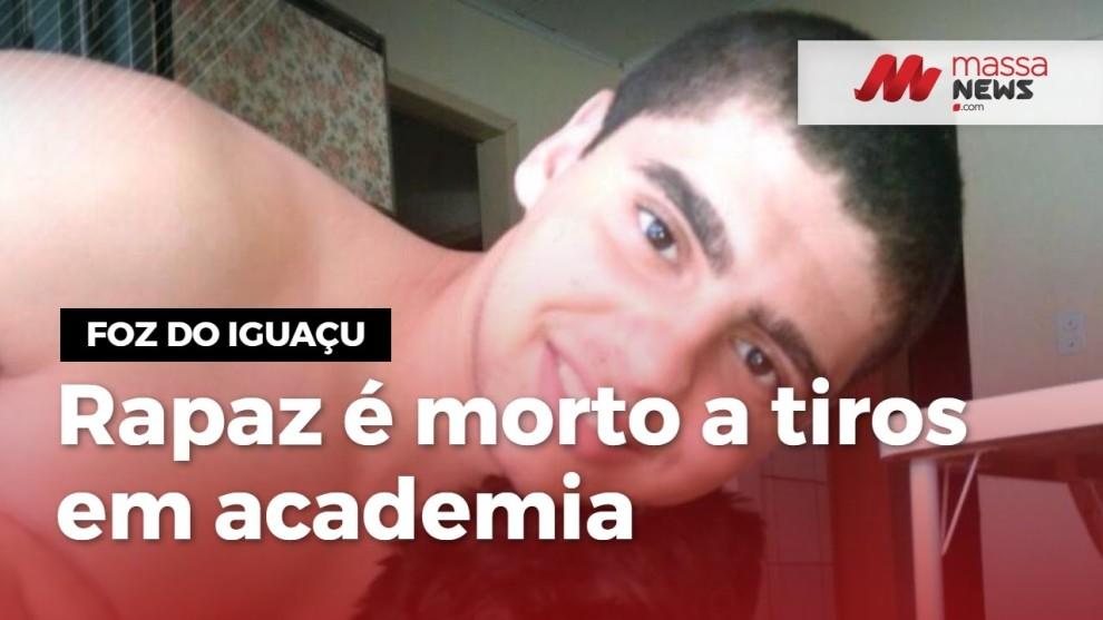 Rapaz de 20 anos é executado enquanto treinava em academia