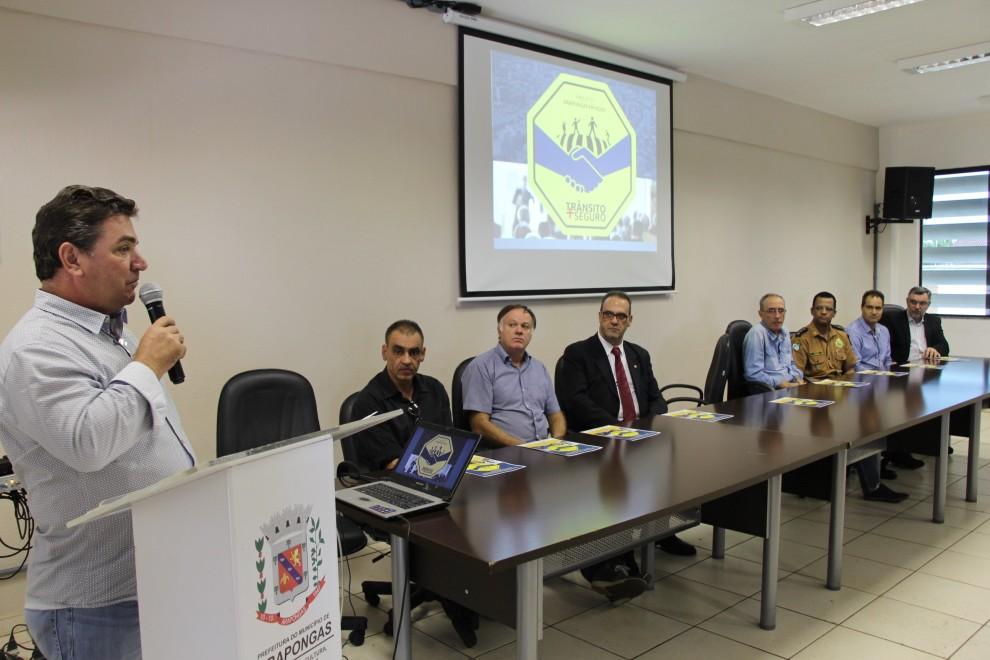 Secretaria de Segurança lança Projeto de Educação de Trânsito