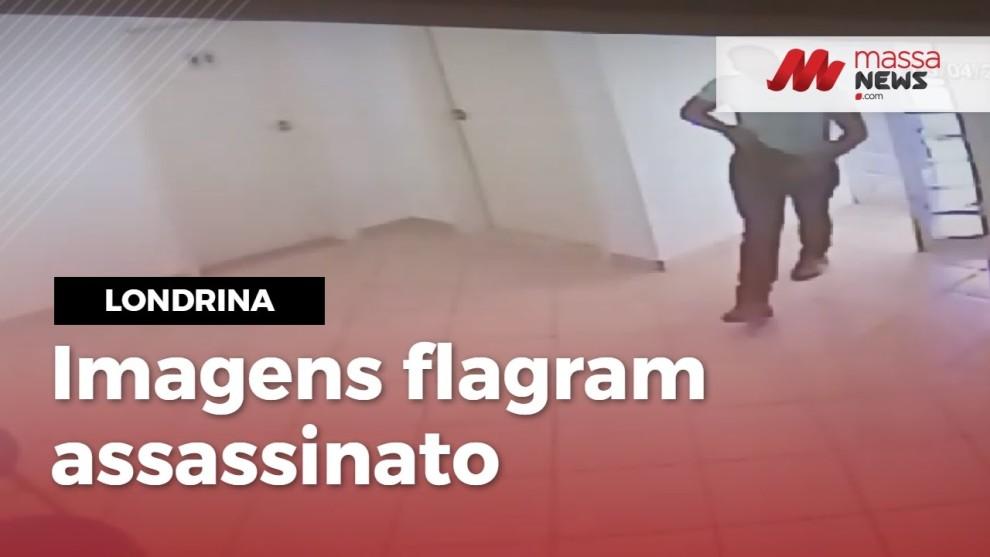 Polícia divulga imagens do Guarda Municipal cometendo o assassinato  de Ana Regina
