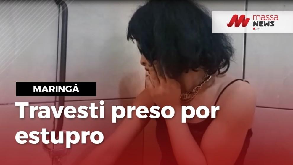 Travesti é preso por estupro de vulnerável