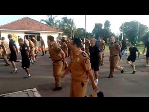 Polícia Militar de Arapongas participa do Dia do Desafio