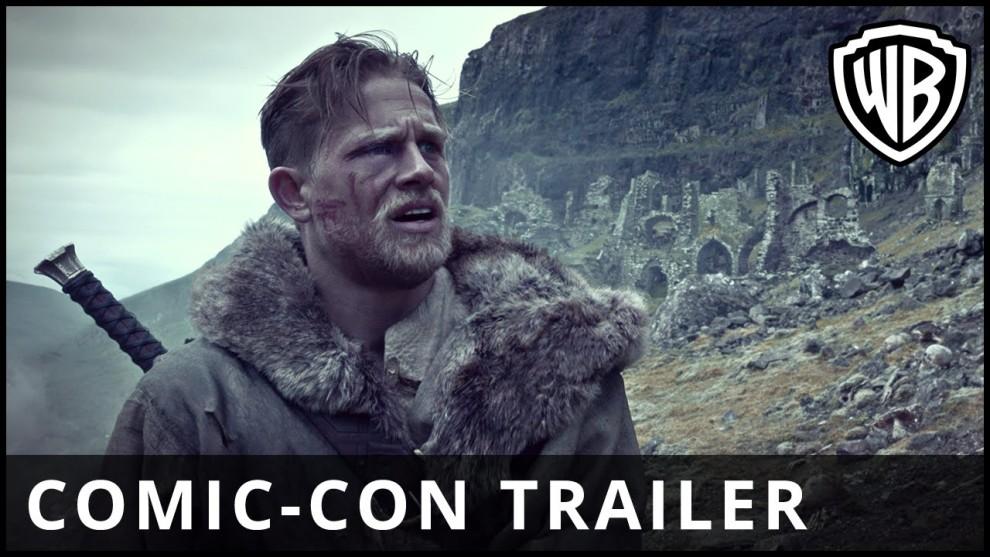 Rei Arthur: A Lenda da Espada – Trailer – Sessões: 18:30/21:15