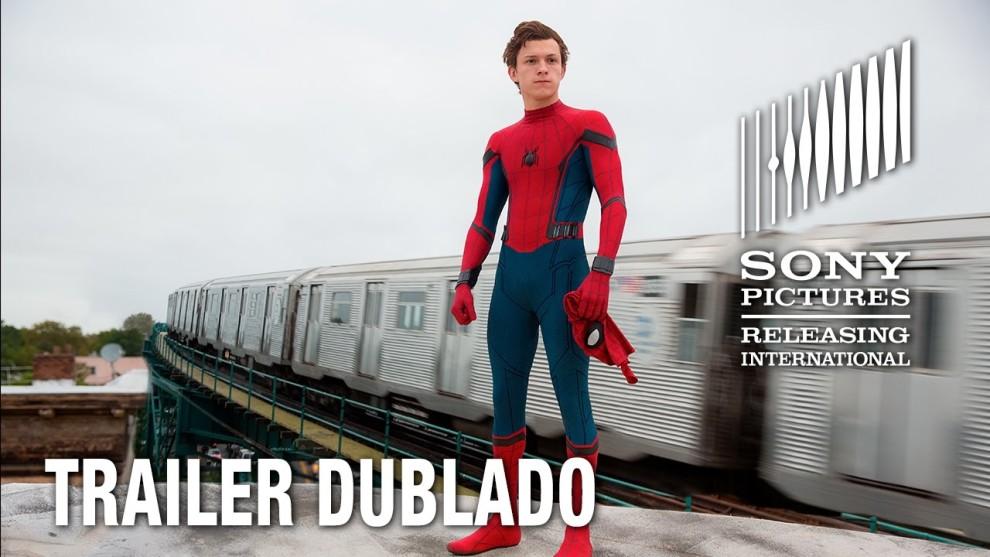 Homem-Aranha: De Volta ao Lar – Trailer – Sessões: 15:00/18:15/21:15 hs