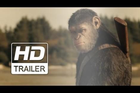 Planeta dos Macacos: A Guerra – Trailer – Sessões: 15:00/18:15/21:15 Hs