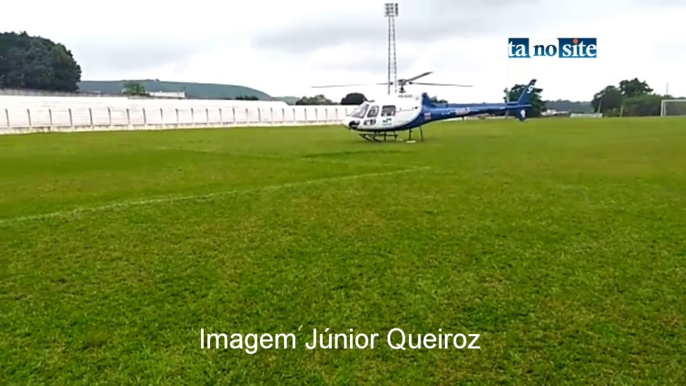 Professora é transferida de helicóptero para hospital de Arapongas após infarto