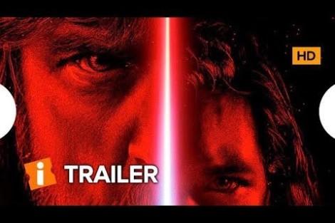 Star Wars – Os Últimos Jedi – Trailer -Pré-Estreia 13/12/2017