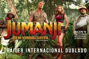 Jumanji: Bem-Vindo à Selva – Trailer – Sessões: 15:30/18:30/21:15 Hs