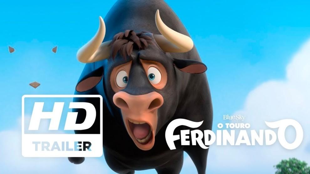 O Touro Ferdinando – Trailer – Sessões:15:00/17:00/19:00 Hs