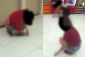 Após suposta tentativa de calote, adolescentes são obrigados a limpar lanchonete