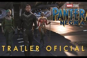 Pantera Negra – Trailer – Sessões: 15:30/18:30/21:15 Hs