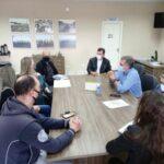 Prefeito Gallo recebe visita de integrantes da APP Sindicato